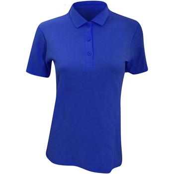 textil Dame Polo-t-shirts m. korte ærmer Anvil 6280L Royal