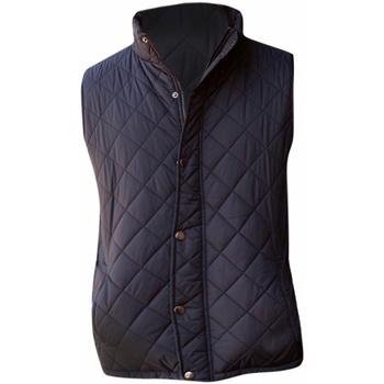 textil Herre Veste / Cardigans Front Row FR903 Black