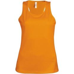 textil Dame Toppe / T-shirts uden ærmer Kariban Proact Proact Orange