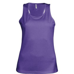 textil Dame Toppe / T-shirts uden ærmer Kariban Proact Proact Purple