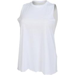 textil Dame Toppe / T-shirts uden ærmer Skinni Fit High Neck White