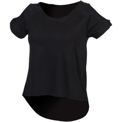 textil Dame T-shirts m. korte ærmer Skinni Fit SK233 Black