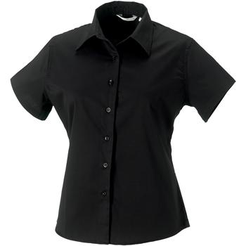 textil Dame Skjorter / Skjortebluser Russell J917F Black
