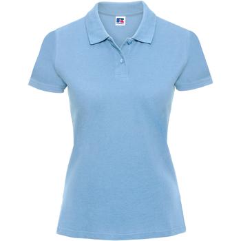 textil Dame Polo-t-shirts m. korte ærmer Russell 569F Sky