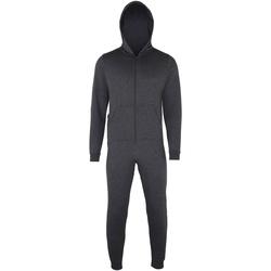 textil Børn Pyjamas / Natskjorte Colortone CC01J Charcoal