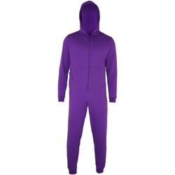 textil Børn Pyjamas / Natskjorte Colortone CC01J Purple