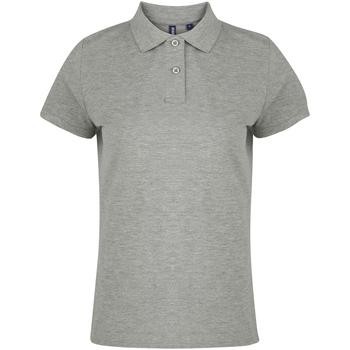 textil Dame Polo-t-shirts m. korte ærmer Asquith & Fox  Heather