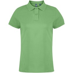 textil Dame Polo-t-shirts m. korte ærmer Asquith & Fox  Lime