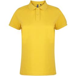 textil Dame Polo-t-shirts m. korte ærmer Asquith & Fox  Sunflower