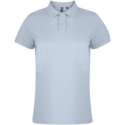 textil Dame Polo-t-shirts m. korte ærmer Asquith & Fox  Turquoise
