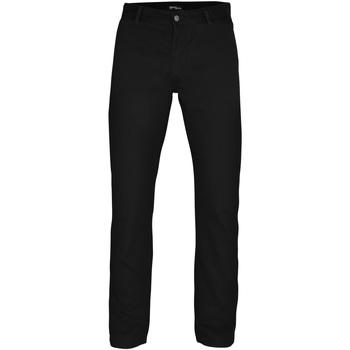 textil Herre Chinos / Gulerodsbukser Asquith & Fox AQ050 Black