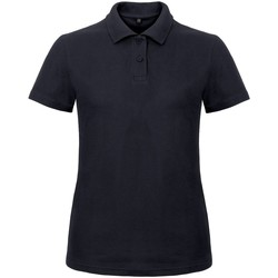 textil Dame Polo-t-shirts m. korte ærmer B And C ID.001 Navy