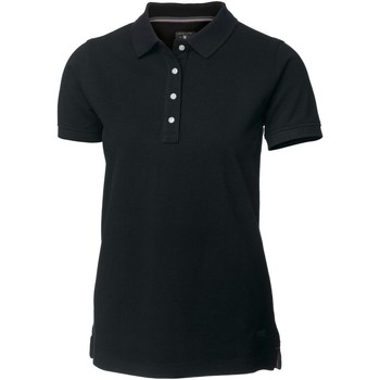 textil Dame Polo-t-shirts m. korte ærmer Nimbus Yale Black