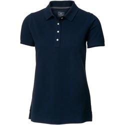 textil Dame Polo-t-shirts m. korte ærmer Nimbus Yale Navy