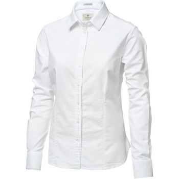 textil Dame Skjorter / Skjortebluser Nimbus Rochester White