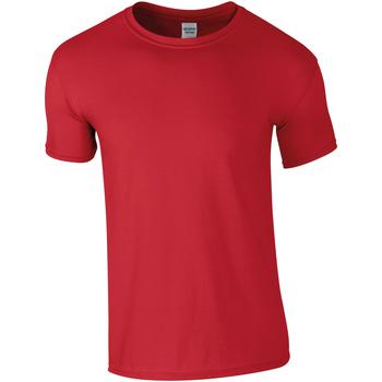 textil Herre T-shirts m. korte ærmer Gildan Soft-Style Red