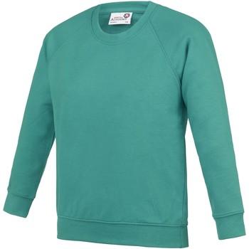 textil Børn Sweatshirts Awdis AC01J Emerald