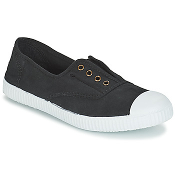 Sko Lave sneakers Victoria INGLESA ELASTICO TINTADA Sort