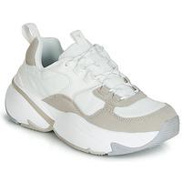 Sko Dame Lave sneakers Victoria AIRE NYLON/SERRAJE PU Hvid