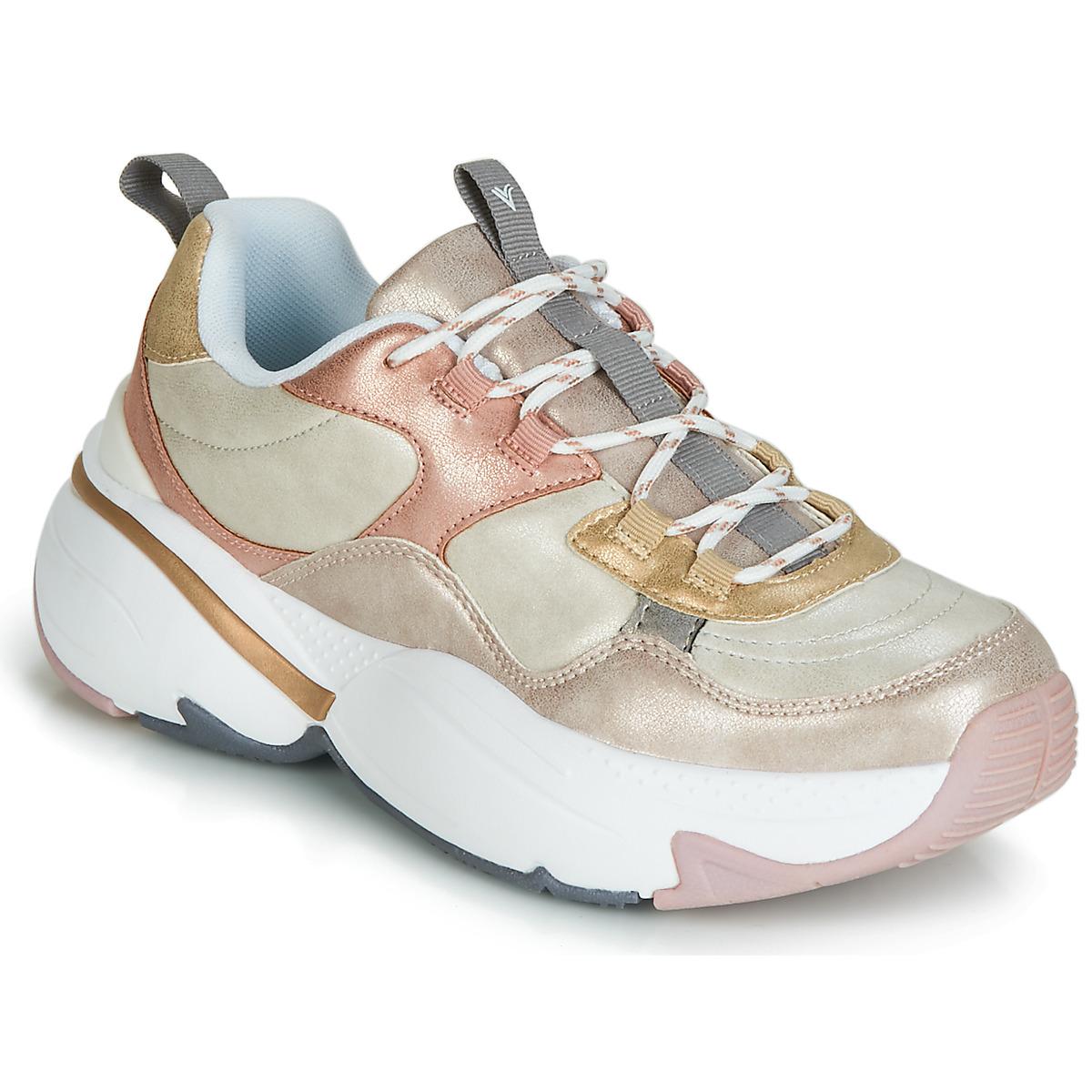 Sneakers Victoria  AIRE METALICO NACAR