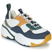 Sko Dame Lave sneakers Victoria SNEAKER MALLA/MULTIMATERIAL Hvid / Marineblå
