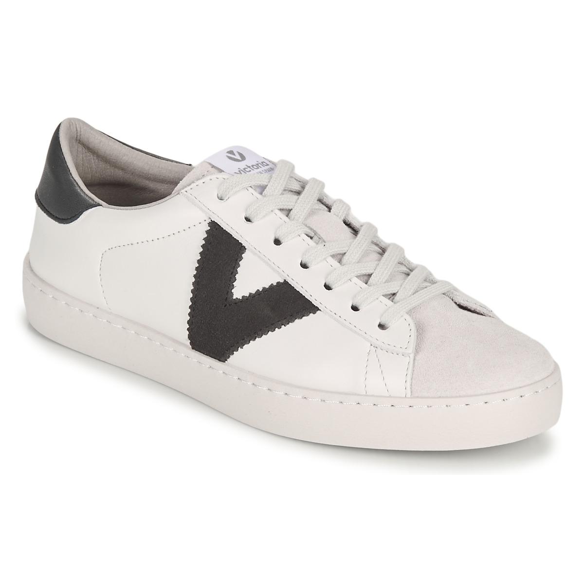Se Sneakers Victoria  BERLIN PIEL CONTRASTE ved Spartoo