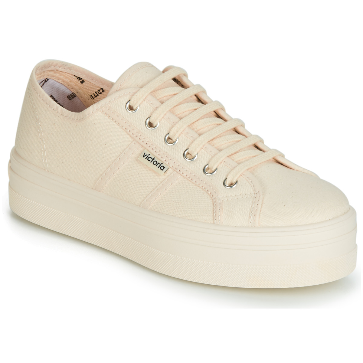 Sneakers Victoria  BARCELONA LONA MONOCROMO