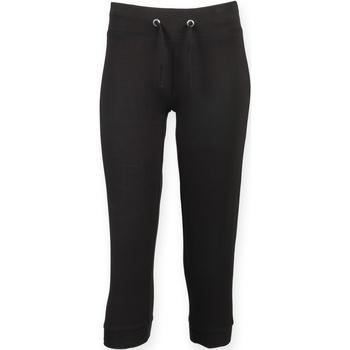 textil Dame Træningsbukser Skinni Fit SK423 Black