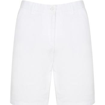 textil Herre Shorts Front Row FR605 White