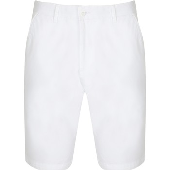 textil Dame Shorts Front Row FR606 White