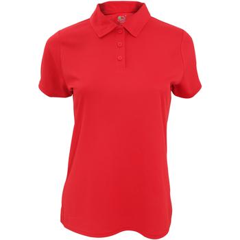 Polo-t-shirts m. korte ærmer Fruit Of The Loom  SS062
