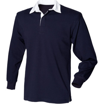 Polo-t-shirts m. lange ærmer Front Row  FR109