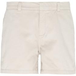 textil Dame Shorts Asquith & Fox AQ061 Natural