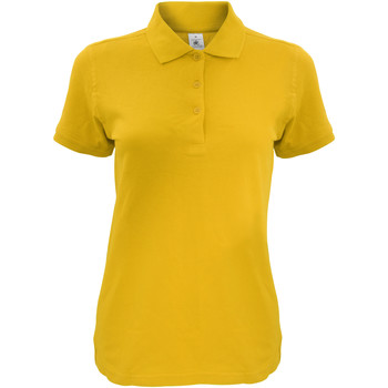 textil Dame Polo-t-shirts m. korte ærmer B And C Safran Gold