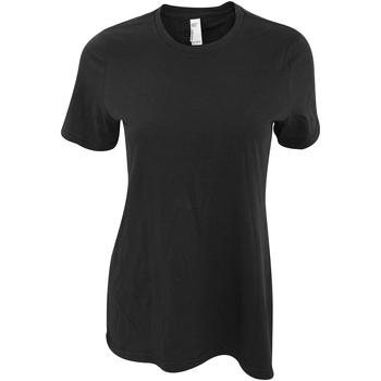textil Dame T-shirts m. korte ærmer American Apparel AA071 Black