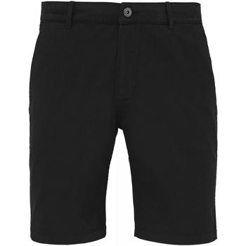 textil Herre Shorts Asquith & Fox AQ051 Black