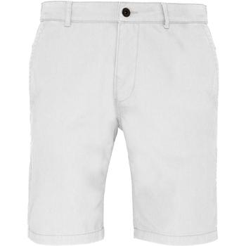 textil Herre Shorts Asquith & Fox AQ051 White