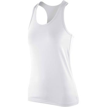 textil Dame Toppe / T-shirts uden ærmer Spiro S281F White