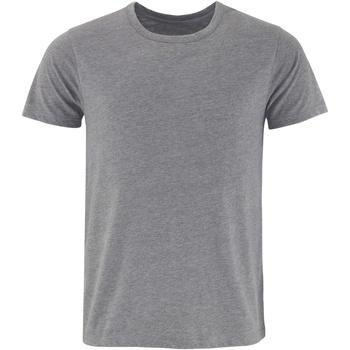 textil Herre T-shirts m. korte ærmer Comfy Co CC040 Charcoal