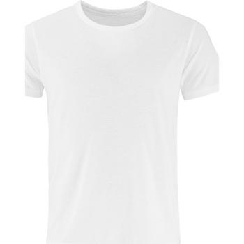 textil Herre T-shirts m. korte ærmer Comfy Co CC040 White