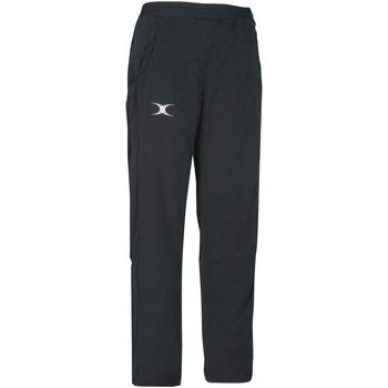 textil Børn Træningsbukser Gilbert GI05J Black