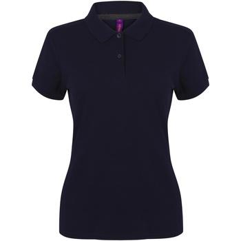 textil Dame Polo-t-shirts m. korte ærmer Henbury HB102 Navy