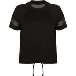 textil Dame T-shirts m. korte ærmer Tombo TL526 Black