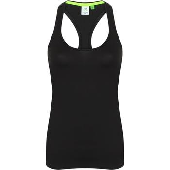 textil Dame Toppe / T-shirts uden ærmer Tombo TL506 Black