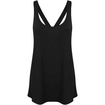 textil Dame Toppe / T-shirts uden ærmer Skinni Fit Workout Black