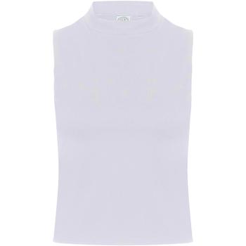textil Dame Toppe / T-shirts uden ærmer Skinni Fit SK170 White