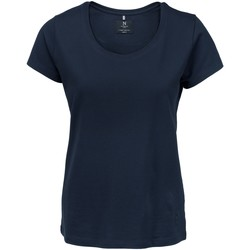 textil Dame T-shirts m. korte ærmer Nimbus NB72F Navy