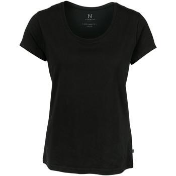 textil Dame T-shirts m. korte ærmer Nimbus Montauk Black