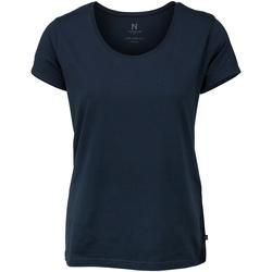 textil Dame T-shirts m. korte ærmer Nimbus Montauk Navy