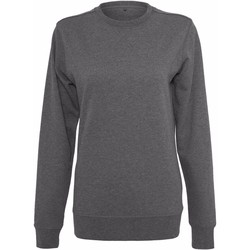 textil Dame Sweatshirts Build Your Brand BY025 Charcoal